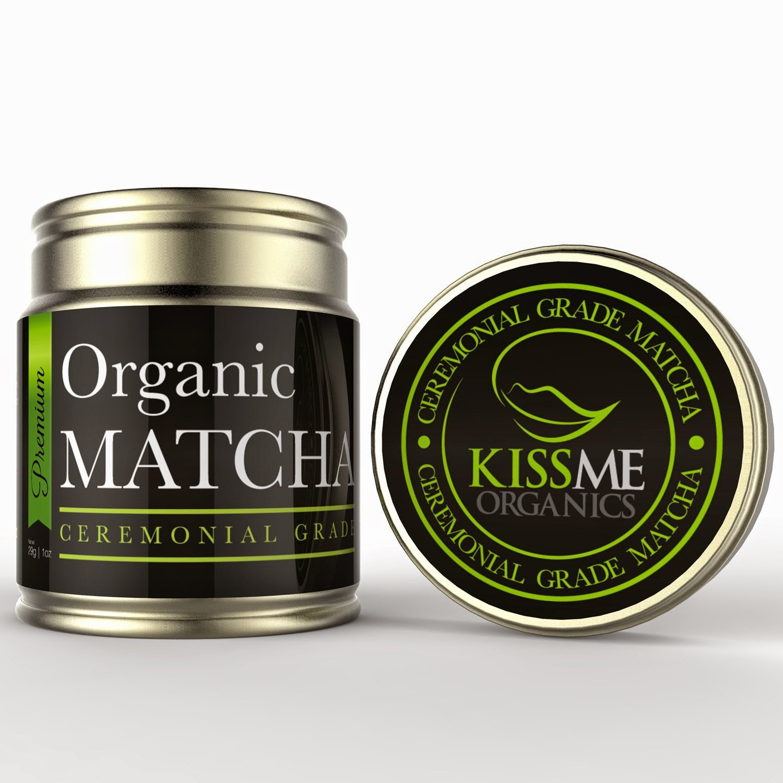 Kiss Me Organics Matcha Tea Review